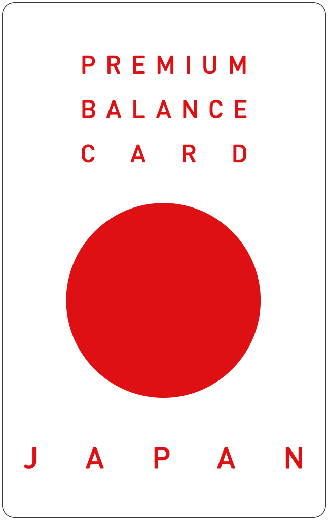 PREMIUM BALANCE CARD JAPAN (infinityBalance ∞ Collaboration CARD)